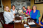 Members of the Ballybunion Ladies Golf enjoying the hospitality in the Horseshoe Bar in Listowel on Friday, l to r: Elva Clancy, Jean Liston, Kathleen Gleeson, Margaret McAullife and Elenor O'Sullivan