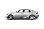 Car Driver side profile view of a 2015 Lexus LS 350 F Sport 4 Door Sedan Side View