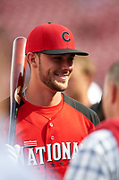 Chicago Cubs Kris Bryant during MLB All-Star Game Practice on July 13, 2015 at Great American Ball Park in Cincinnati, Ohio.  (Mike Janes/Four Seam Images)