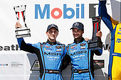#86 Meyer Shank Racing w/ Curb-Agajanian Acura NSX GT3, GTD: Mario Farnbacher, Trent Hindman, podium