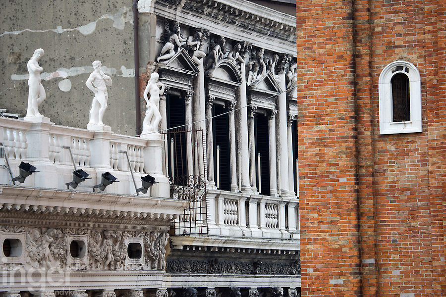 Venice Building Detail, Italy