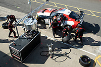 Driver and tyre change for John Ferguson & Scott McKenna, Toyota GR Supra GT4, Toyota GAZOO Racing UK in qualifying during the British GT & F3 Championship on 10th July 2021
