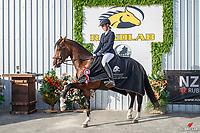 NZL-Charlotte van der Zwan rides Astek Gymsee. Giltrap Agrizone CCN105-S Restricted. 2021 NZL-RANDLAB Matamata Horse Trial. Sunday 21 February. Copyright Photo: Libby Law Photography.