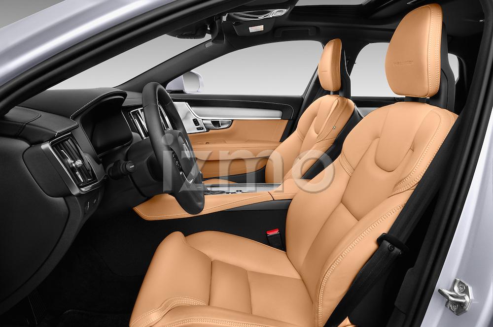 Front seat view of 2017 Volvo S90 Inscription 4 Door Sedan Front Seat  car photos
