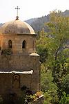 Israel, Jerusalem mountains, Monastery of St. John of the Desert