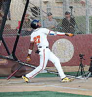 Yorlis Lendor participates in the 2019 Winter Meetings International Showcase sponsored by agency Mejia Top 10 at Point Loma High School on December 9-11, 2019 in San Diego, California (Bill Mitchell)