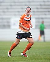 Amanda Naeher.  The Charlotte Lady eagles defeated the Long Island Rough Riders, 4-0, to advance to the W-League Eastern Conference Championship.