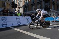 Patrick Haller (DEU)<br /> <br /> Men Under-23 Individual Time Trial<br /> <br /> UCI 2017 Road World Championships - Bergen/Norway