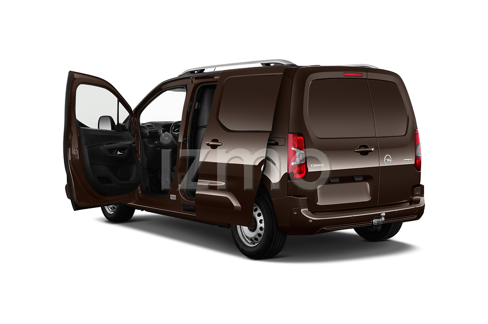 Car images close up view of a 2019 Opel Combo Dynamic 4 Door Car van doors