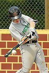 Ross Puskarich takes a swing at a ball during the Bakersfield v Maryland game Monday afternoon during the 2009 Cal Ripken World Series