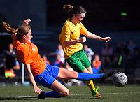 210424 W-League Football - Victoria University v Wellington United Diamonds