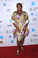 "05 June 2016 - Hollywood, California - Loretta Devine. Arrivals for the 2016 LA Greek Film Festival Premiere Of ""Worlds Apart"" held at The Egyptian Theater. Photo Credit: Birdie Thompson/AdMedia"