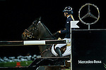 Jessica Mendoza of United Kingdom riding Spirit T in action during the Gucci Gold Cup as part of the Longines Hong Kong Masters on 14 February 2015, at the Asia World Expo, outskirts Hong Kong, China. Photo by Johanna Frank / Power Sport Images