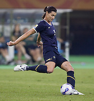 Australia defender (5) Cheryl Salisbury. Brazil defeated Australia, 3-2 during the quarterfinals of the FIFA Women's World Cup at Tianjin Olympic Center Stadium in Tianjin, China on September 23, 2007.