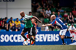 Rangers Legends vs USRC during the Day 2 of the HKFC Citibank Soccer Sevens 2014 on May 24, 2014 at the Hong Kong Football Club in Hong Kong, China. Photo by Xaume Olleros / Power Sport Images