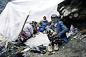 Turquie 1991.Les réfugiés kurdes sur la frontière.Turkey 19991.Kurdish refugees on the border