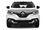 Car photography straight front view of a 2015 Renault Kadjar Bose Edition 5 Door Suv 2WD Front View