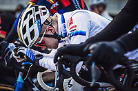 Eli Iserbyt (BEL/Pauwels Sauzen-Bingoal) pre race<br /> <br /> Elite Men's Race<br /> Belgian National CX Championships<br /> Meulebeke 2021<br /> <br /> ©kramon
