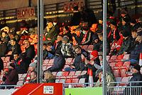 Fans return during Crawley Town vs Barrow, Sky Bet EFL League 2 Football at Broadfield Stadium on 12th December 2020