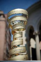 the Giro overall trophy<br /> <br /> 2015 Giro