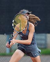 August 9, 2014, Netherlands, Rotterdam, TV Victoria, Tennis, National Junior Championships, NJK,  Perla Nieuwboer (NED) <br /> Photo: Tennisimages/Henk Koster