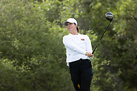 STANFORD, CA - APRIL 24: Lin Grant at Stanford Golf Course on April 24, 2021 in Stanford, California.