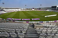 General view of the ground ahead of Hampshire CCC vs Essex CCC, Specsavers County Championship Division 1 Cricket at the Ageas Bowl on 7th April 2019