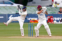 Gareth Berg bats for Northants during Kent CCC vs Northamptonshire CCC, LV Insurance County Championship Group 3 Cricket at The Spitfire Ground on 6th June 2021