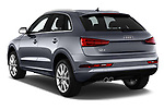 Car pictures of rear three quarter view of a 2018 Audi Q3 Premium 5 Door SUV angular rear