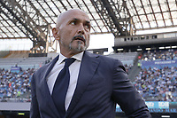 Luciano Spalletti coach of SSC Napoli  during the Serie A 2021/2022 football match between SSC Napoli and Juventus FC at Diego Armando Maradona stadium in Napoli (Italy), September 11th, 2021. <br /> Photo Cesare Purini / Insidefoto