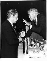 Michel Belanger et  ? a droite, 17 octobre 1979.<br /> <br /> PHOTO : JJ Raudsepp  - Agence Quebec presse
