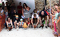 04/08/19<br /> <br /> <br /> Hundreds of spectators watch as competitors race their hens at the World Championship Hen Racing on a purpose-built track outside the Barley Mow pub in Bonsall, in the Derbyshire Peak District.<br />  <br /> All Rights Reserved, F Stop Press Ltd +44 (0)7765 242650 www.fstoppress.com rod@fstoppress.com