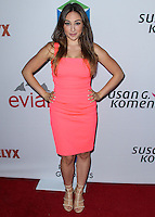 SANTA MONICA, CA, USA - JUNE 11: Danielle Robay at the Pathway To The Cures For Breast Cancer: A Fundraiser Benefiting Susan G. Komen held at the Barker Hangar on June 11, 2014 in Santa Monica, California, United States. (Photo by Xavier Collin/Celebrity Monitor)