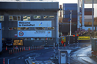 CentrePort at 8am, Wednesday during Level 4 lockdown for the COVID-19 pandemic in Wellington, New Zealand on Thursday, 19 August 2021.