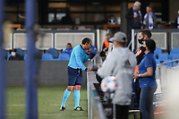 SAN JOSE, CA - MAY 12: Referee Baldomero Toledo during a game between Seattle Sounders FC and San Jose Earthquakes at PayPal Park on May 12, 2021 in San Jose, California.