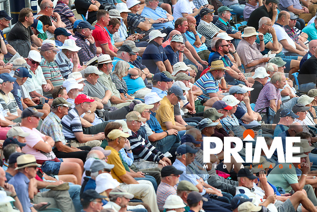 Yorkshire CCC spectators during the 2nd day Specsavers County Championship match between Yorkshire and Somerset at Headingley Cricket Ground, St Michaels Lane, England on 30 August 2018. Photo by Thomas Gadd.