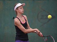 Hilversum, Netherlands, August 10, 2016, National Junior Championships, NJK, Solange Beliën (NED)<br /> Photo: Tennisimages/Henk Koster