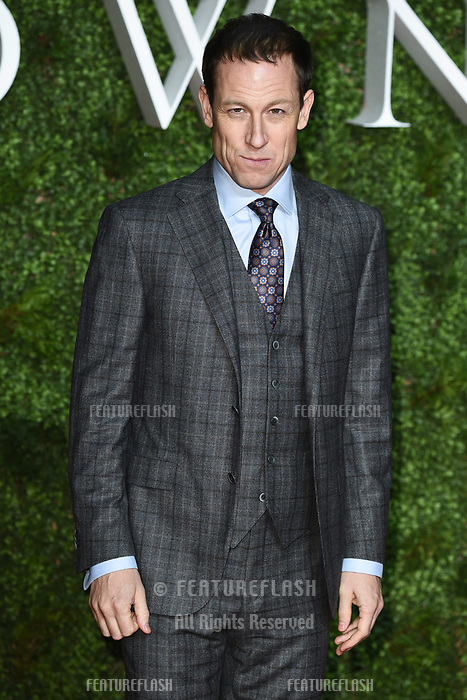 "LONDON, UK. November 13, 2019: Tobias Menzies arriving for ""The Crown"" series 3 premiere at the Curzon Mayfair, London.<br /> Picture: Steve Vas/Featureflash"