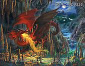 Liz,REALISTIC ANIMALS,dragon,fantasy, REALISTISCHE TIERE, ANIMALES REALISTICOS, LizDillon, paintings+++++,USHCLD0326,#A#, EVERYDAY