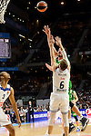 Real Madrid's player Anthony Randolph and Andres Nocioni and Unics Kazan's player Marko Basic during match of Turkish Airlines Euroleague at Barclaycard Center in Madrid. November 24, Spain. 2016. (ALTERPHOTOS/BorjaB.Hojas)