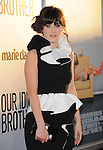 Zooey Deschanel attends OUR IDIOT BROTHER Los Angeles Premiere held at The Arclight Theater in Hollywood, California on August 16,2011                                                                               © 2011 DVS / Hollywood Press Agency