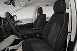 Front seat view of 2017 Chrysler Pacifica LX 5 Door Minivan Front Seat  car photos