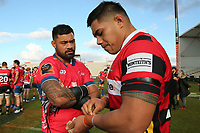 Mitre 10 Cup rugby match between Canterbury and Tasman Makos at Orangetheory Stadium in Christchurch, New Zealand on Friday, 5 July 2019. Photo: Martin Hunter / lintottphoto.co.nz