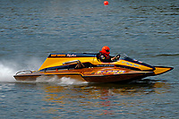"""F-726 """"Flying Tiger"""", 1978 Gibbs 5 Litre class cabover hydroplane"""