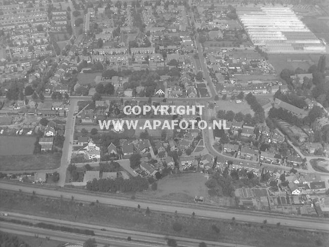 Arnhem, 180888 - Foto Jan Wamelink/ APA FOTO<br /> Luchtfoto Centrum Elden