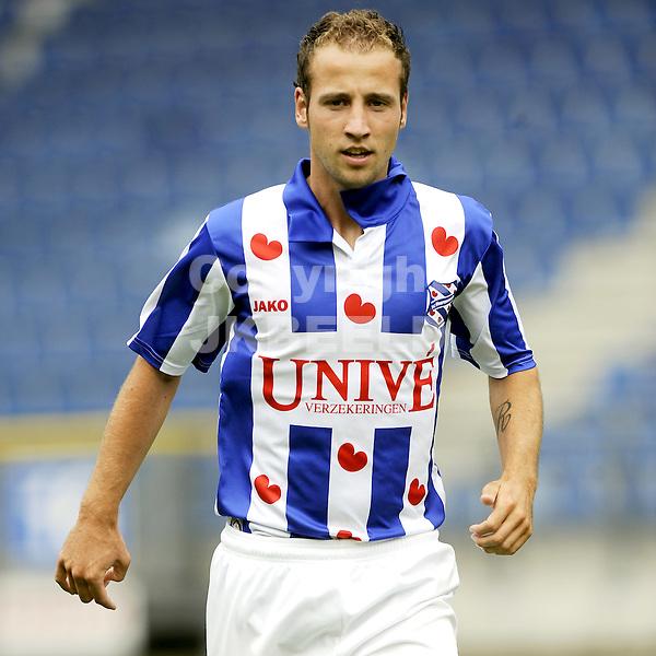 voetbal sc heerenveen seizoen 2010-2011  eredivisie  08-07-2010 roy beerens.