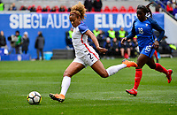 Harrison, N.J. - Sunday March 04, 2018: Casey Short during a 2018 SheBelieves Cup match between the women's national teams of the United States (USA) and France (FRA) at Red Bull Arena.