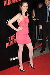 Kristen Stewart  at APPARITION'S L.A. Premiere of The Runaways held at The Arclight Cinerama Dome in Hollywood, California on March 11,2010                                                                   Copyright 2010 DVS / RockinExposures..