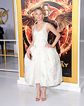 Jennifer Lawrence at The  Los Angeles Premiere of The Hunger Games: Mockingjay - Part 1 held at  Nokia Theatre L.A. Live in Los Angeles, California on November 17,2014                                                                               © 2014 Hollywood Press Agency