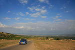 Meelia-Manot scenic road in the Upper Galilee
